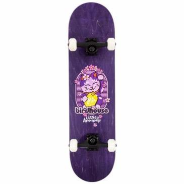 "Birdhouse - Birdhouse Stage 3 Armanto Maneki Neko Complete Skateboard | Purple 8"""