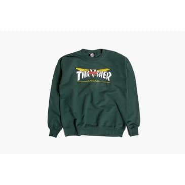 Thrasher X Venture Crewneck Sweatshirt Forest Green