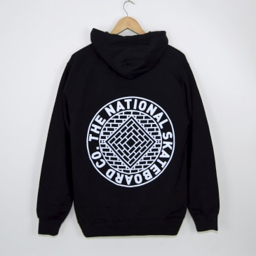 The National Skateboard Co. - Classic Pullover Hooded Sweatshirt - Black