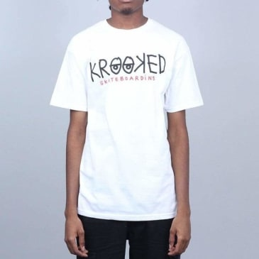 Krooked - Krooked Eyes SS White/Green