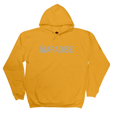 Paradise - Fashion Logo Hooded Sweatshirt - Gold (3M)