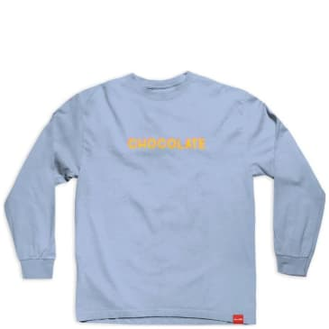 Chocolate Skateboards Bar Longsleeve T-Shirt - Baby Blue
