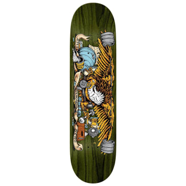 Anti Hero Pumping Feathers Deck - 8.5""