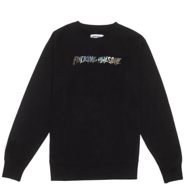 Fucking Awesome Extinction Crewneck - Black