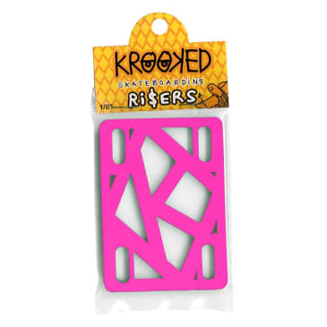 Krooked Riser Hot Pink 1/8 Inch