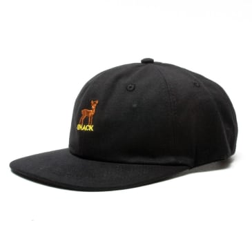 Snack Buck 6 Panel Polo Black