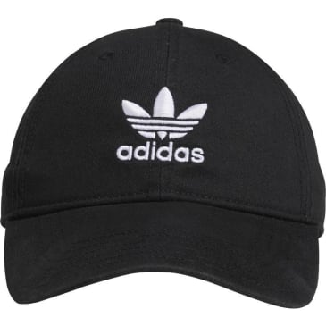 Adidas Originals Relaxed Strapback Hat Black - White