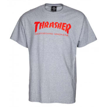 Thrasher Mag Logo Tee (Heather/Red)