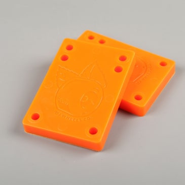 "OJ 'Juice Cubes' 3/8"" Riser Pads (Orange)"