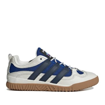 adidas Skateboarding FA Experiment 1 Shoes - Crystal White / Collegiate Navy / Collegiate Royal