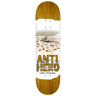Anti-Hero Pfanner Plastics Deck 8.06""