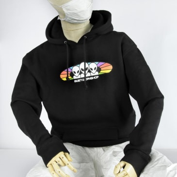 Alien Workshop Spectrum Hoodie Black