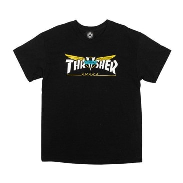 Thrasher Venture Collab T-Shirt - Black