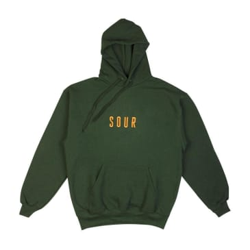 Sour Army Hoodie - Bottle Green