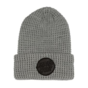 SANTA CRUZ Felt Dot Beanie Grey Heather