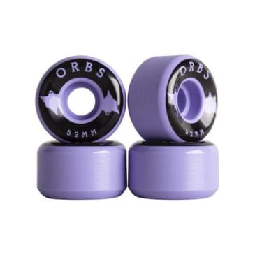 Welcome Skateboards - Orbs Specter Solids - 52mm (Lavender)