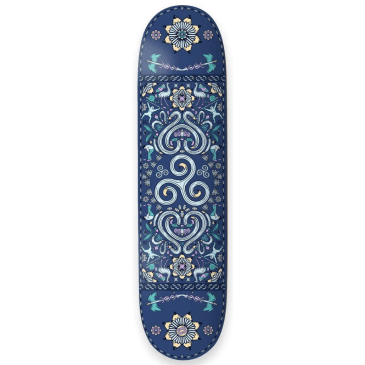 "The Drawing Boards - 8.25"" Spiral Skateboard Deck"