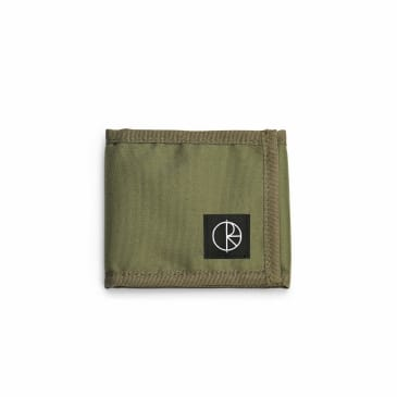 Polar Skate Co. Cordura Wallet - Olive Green