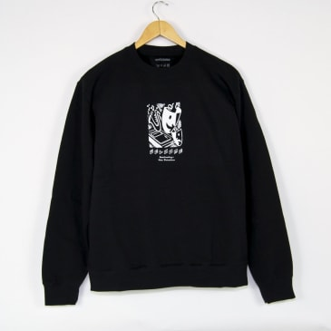 Welcome Skate Store - Distractions Crewneck Sweatshirt - Black