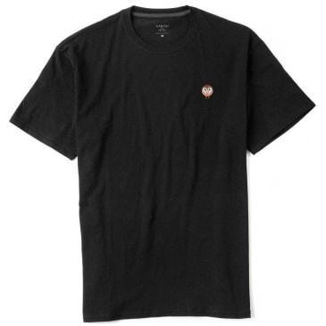 Habitat Skateboards Barn Owl Embroidered T-Shirt - Black