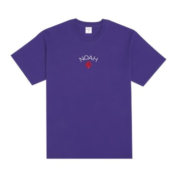 Noah T-Shirt Rose Core Logo Purple