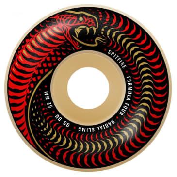 Spitfire Wheels - Venomous Formula Four Radial Slim Wheels 99a 52mm