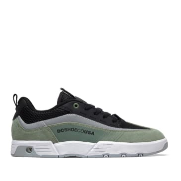 DC Legacy 98 Slim SE Skate Shoes - Olive / Black