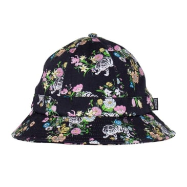 Rip N Dip Blooming Nerm Cotton Twill Bucket Hat - Black