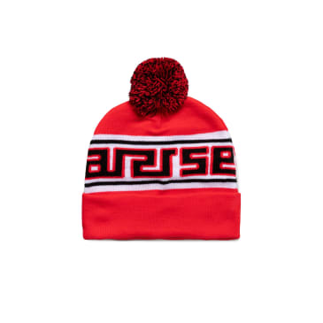 Aries Meandros Beanie - Red