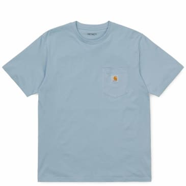 Carhartt WIP Pocket T-Shirt - Frosted Blue