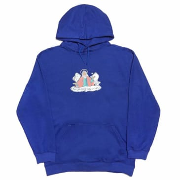 Cometomychurch THEY DON'T EVEN KNOW I EXIST Hoodie - Blue