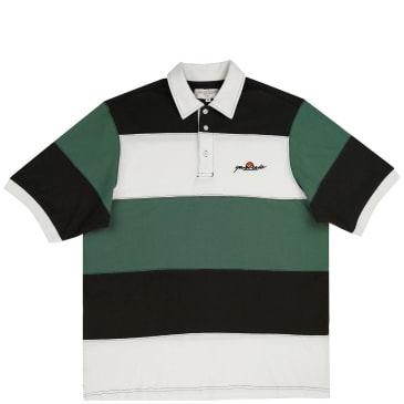 Yardsale Gardena Polo - Forest / Cream / Black