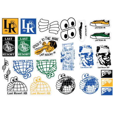 Last Resort AB Sticker Pack