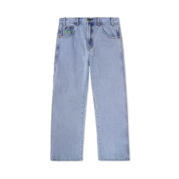 "BUTTER GOODS-""FROG DENIM PANTS""(LIGHT BLUE)"