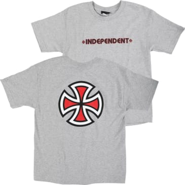Independent - Bar Cross Youth SS Athletic Heather S