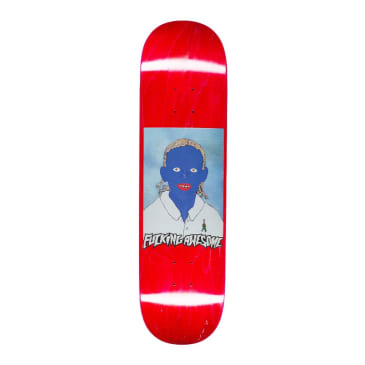 Fucking Awesome Painted Na-Kel Skateboard Deck - 8.5""