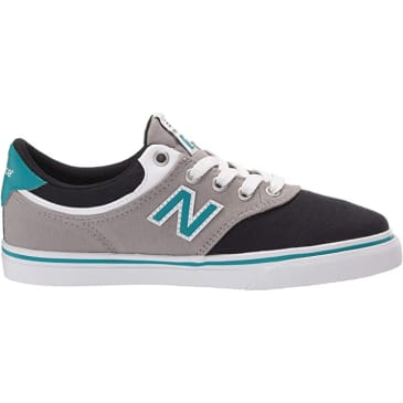 New Balance Numeric Kids 255 (Black/Grey/Teal)