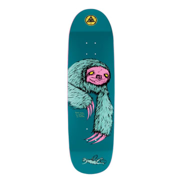 WELCOME Sloth on Antheme Deck 8.8