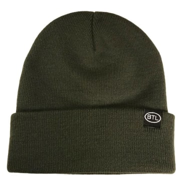 Blue Tile Lounge Beanie Country Code Fine Knit Green
