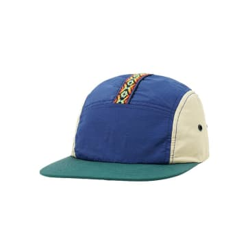 Butter Goods - Trail Camp Cap - Navy/Khaki/Teal