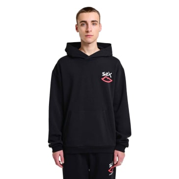 Sex Skateboards Back Print Hood - Black