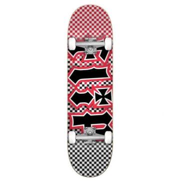 "Flip Fast Times Red Complete Skateboard - 7.87"""