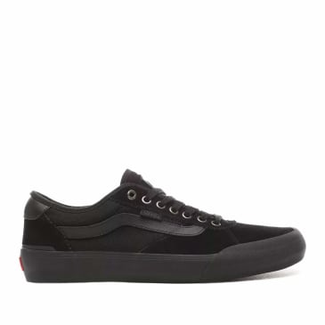 Vans Chima Pro 2 Skate Shoes Suede - Blackout