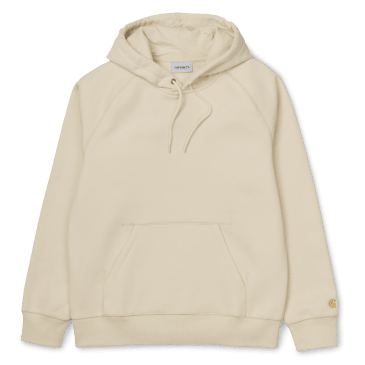 Carhartt WIP Hooded Chase Sweat - Flour/Gold