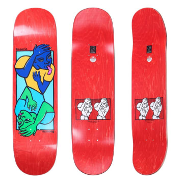 Polar Skate Co Nick Boserio Double Head Deck All Sizes