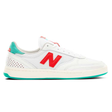 New Balance Numeric 440 Tom Knox Skateboard Shoe - White/Aqua