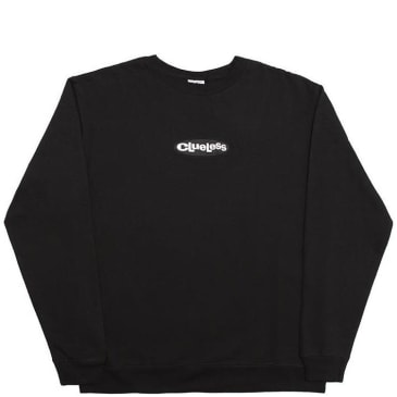 Alltimers Clueless Embroidered Crew - Black