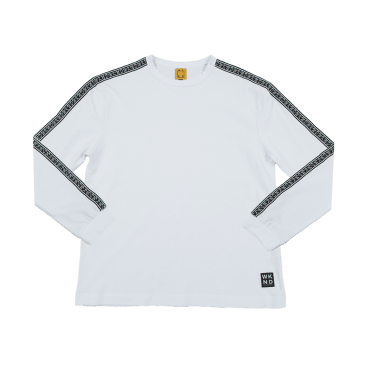 WKND - Flip The Script Long Sleeve T Shirt - White