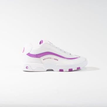 DC Legacy Lite Womens Shoes - White / Purple