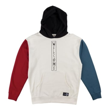 Welcome Copy of Quadrant Pullover Hoodie - Bone Black